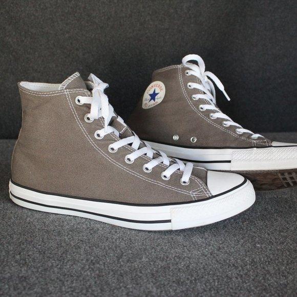 Converse Chuck Taylor All Star High Top, Grey Gray